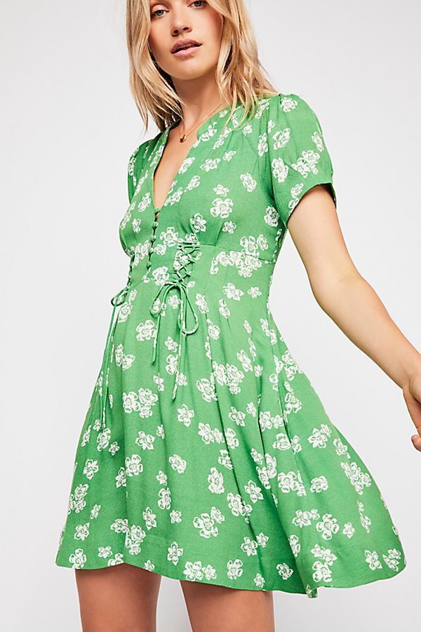 444c6a7d3a87 Dream Girl Mini Dress | Free People