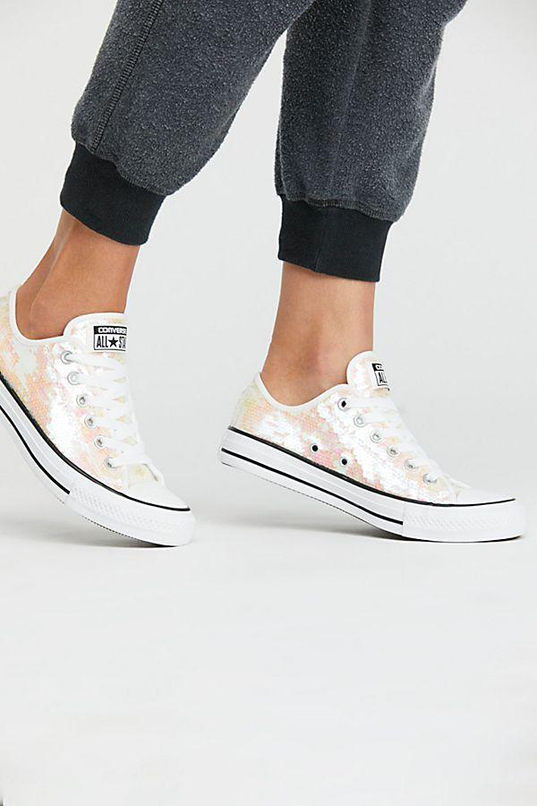 6738a1ffd351 Odyssey Sequin Low-Top Sneaker