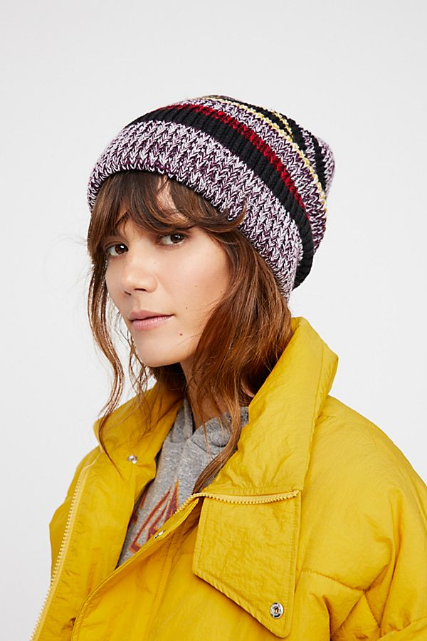 7ce9f408473 All Day Every Day Striped Beanie