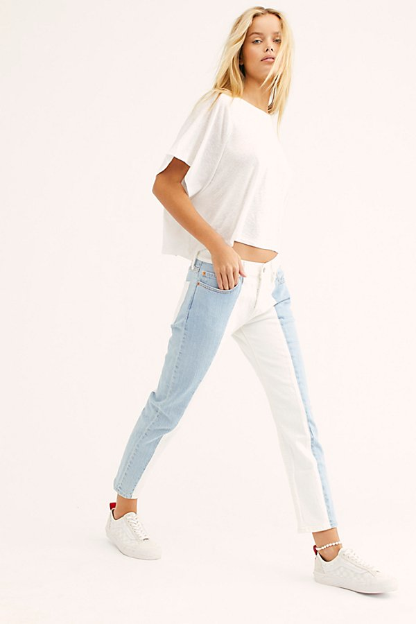 Slide View 1: Levi's 501 Cropped Taper Jeans