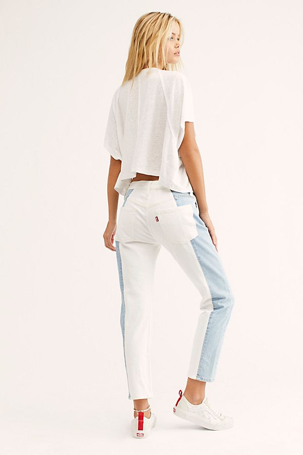 889c4f87 Slide View 2: Levi's 501 Cropped Taper Jeans