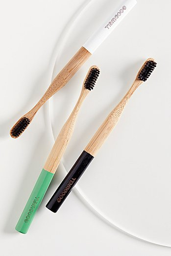Goodwell Co. Bamboo + Binchotan Toothbrush