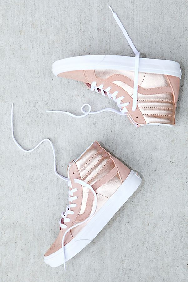6b6b7f5693 Sk8-Hi Reissue Two-Tone Metallic Hi Top