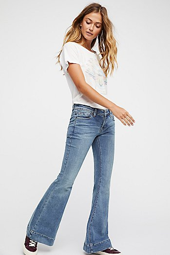 Low Tide Bell Bottom Jeans