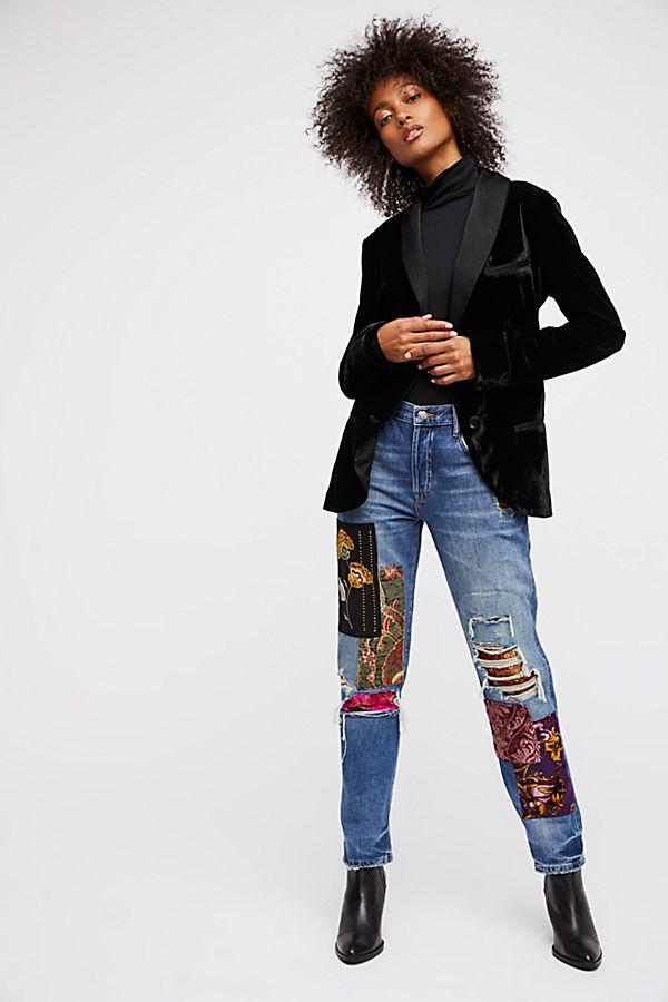 d4987a2f15e226 Luxe Embellished Boyfriend Jeans | Free People