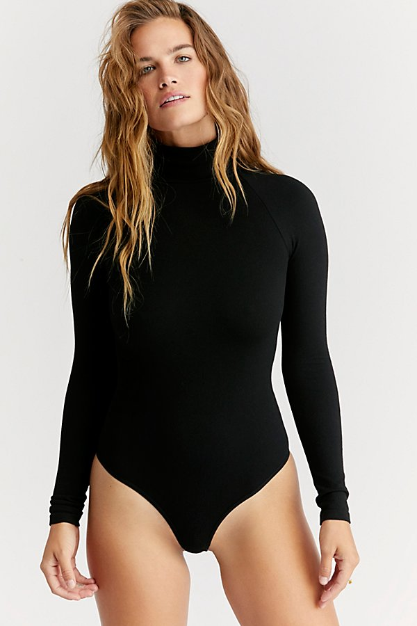 Slide View 4: Seamless Turtleneck Bodysuit