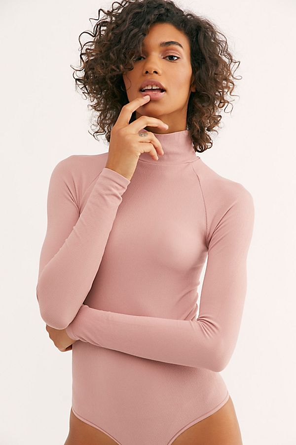 76ca43886f4 Seamless Turtleneck Bodysuit