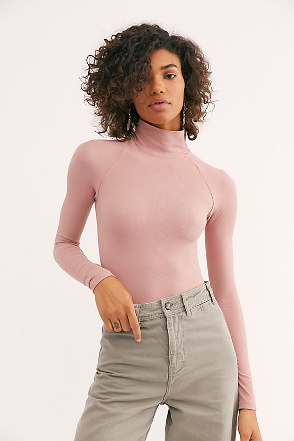 16c51bf6d6dd Slide View 1: Seamless Turtleneck Bodysuit