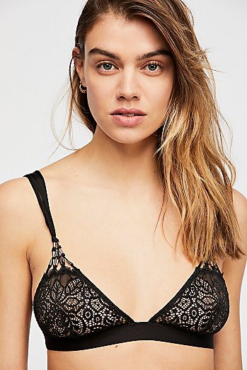Monroe Macrame Beaded Bra