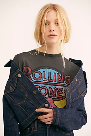 Rolling Stones Retro Tee by Free People