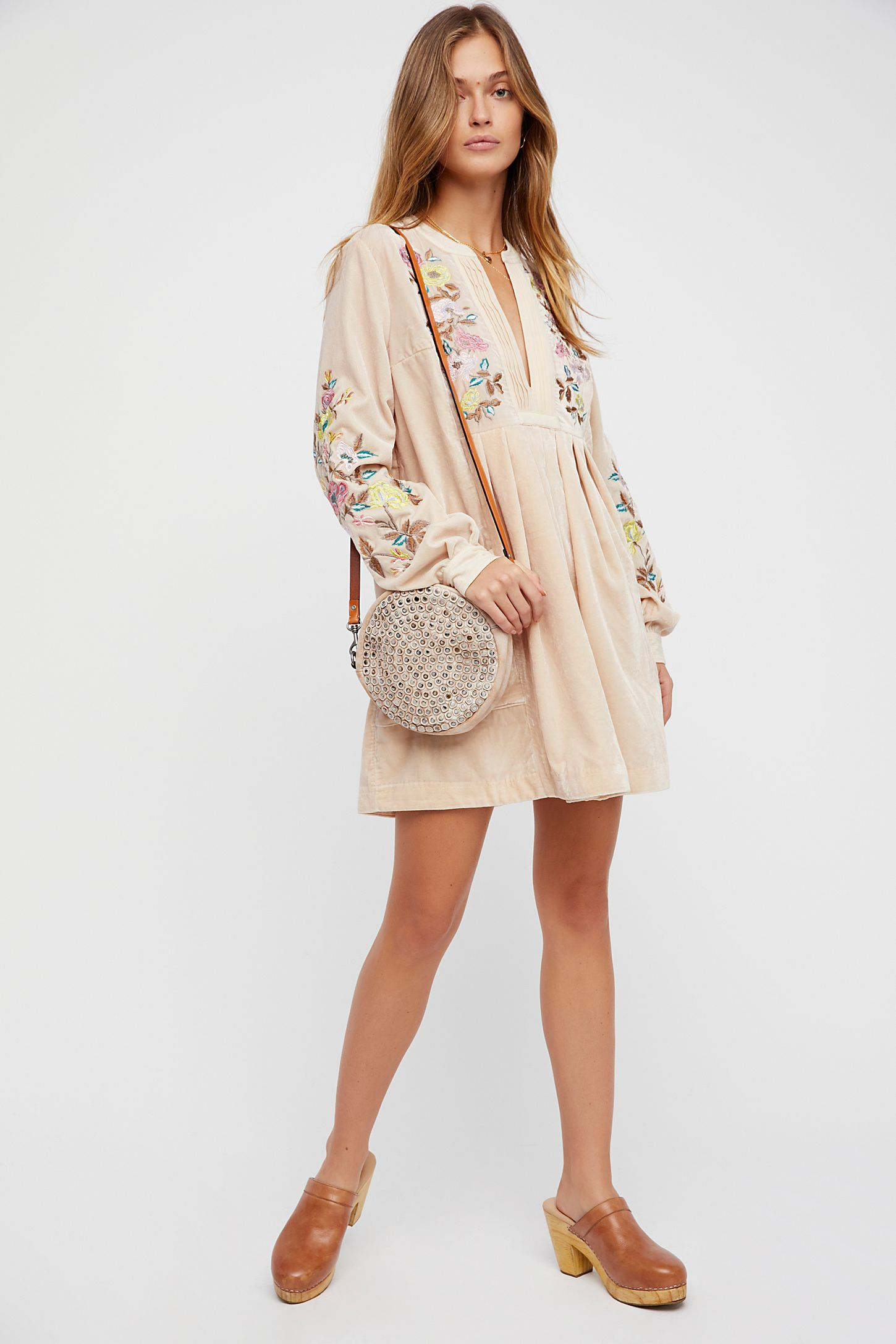 2838c84475 Mia Embroidered Dress | Free People UK