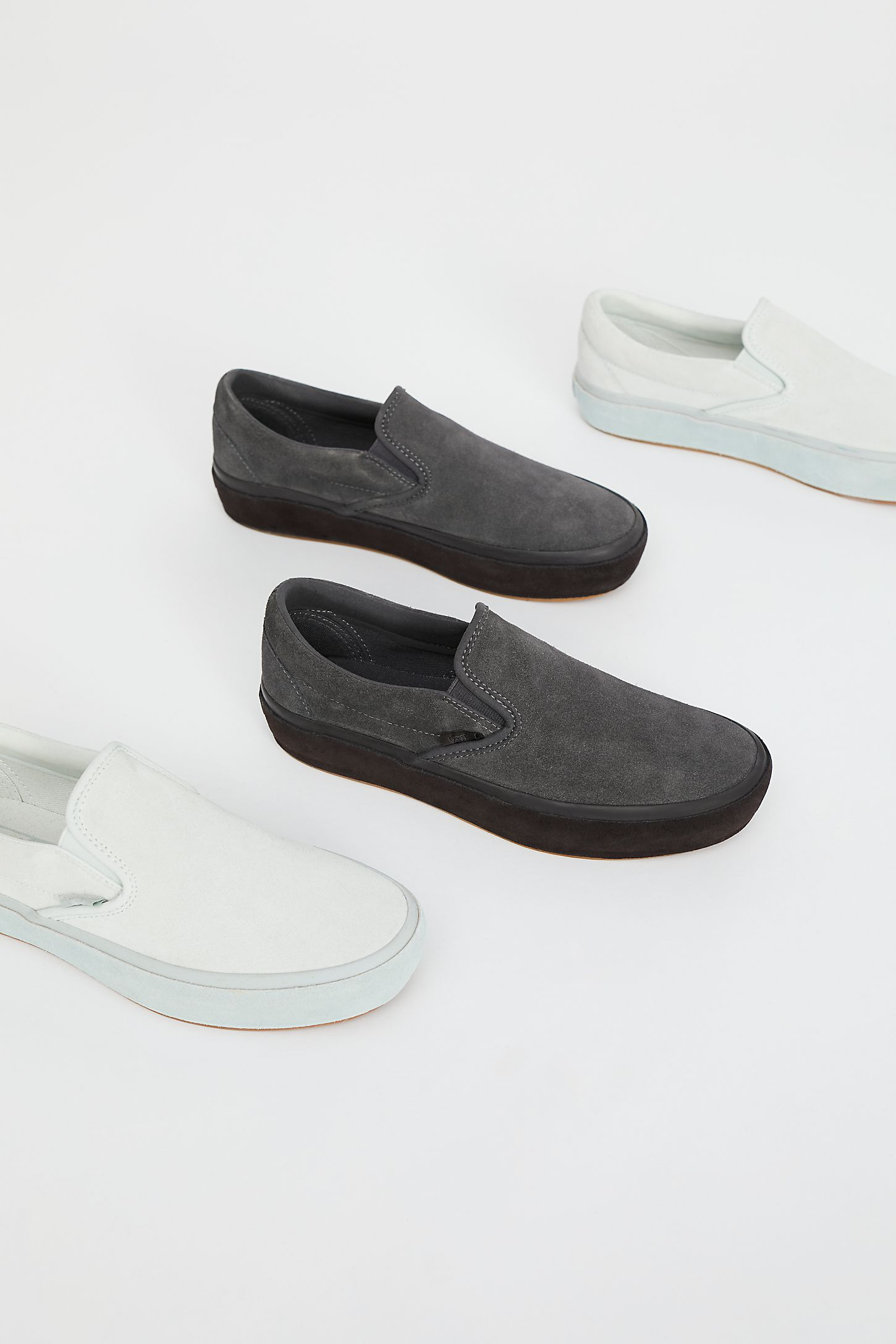 45fe3f2d18e Classic Slip-On Suede Platform Trainer. Tap on image to zoom. Double Tap to  Zoom