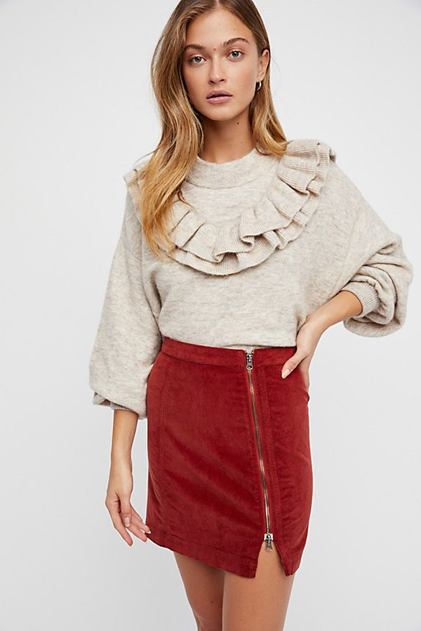 99ab9d1abc This Way Or That Cord Mini Skirt | Free People