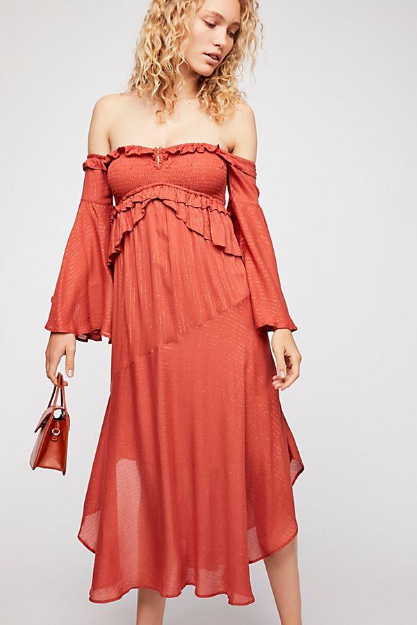 b48978ce62e9 Florence Midi Dress   Free People UK