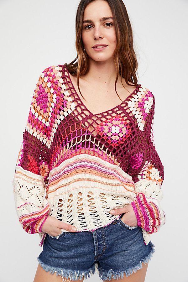 8adc93726561b0 Slide View 1  Call Me Crochet Top