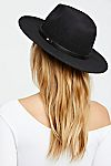 Thumbnail View 3: Wythe Leather Band Felt Hat