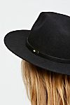 Thumbnail View 5: Wythe Leather Band Felt Hat