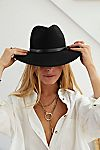Thumbnail View 6: Wythe Leather Band Felt Hat