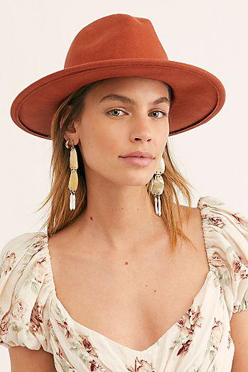 a6419e12e29d7 Wythe Leather Band Felt Hat