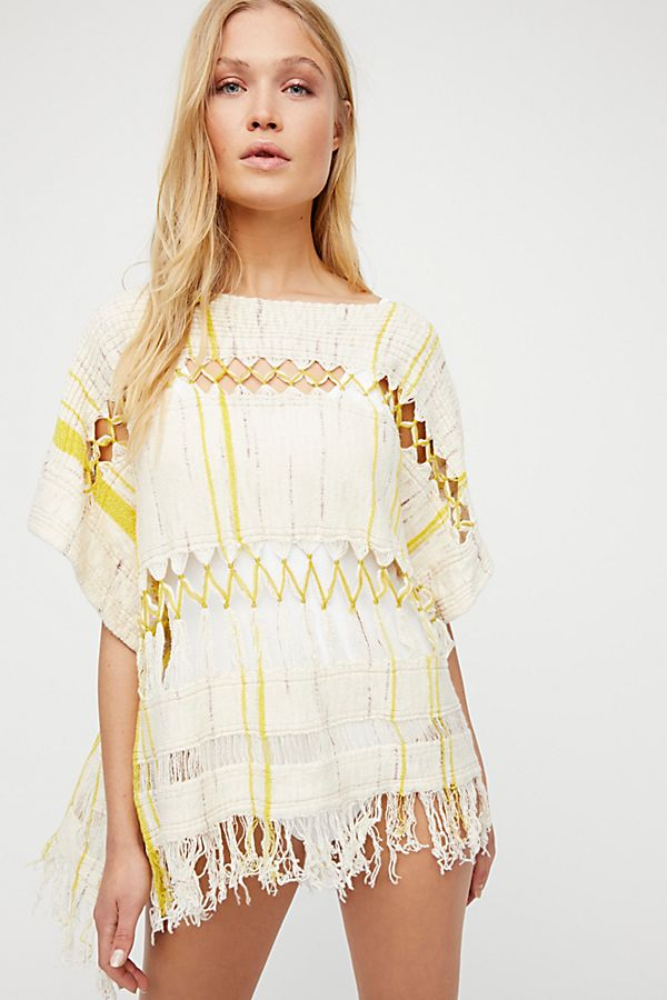 a116196529 Sundream Pullover Sweater Poncho | Free People