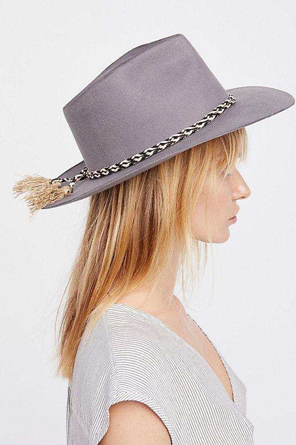 Slide View 3: Morrisey Distressed Felt Hat