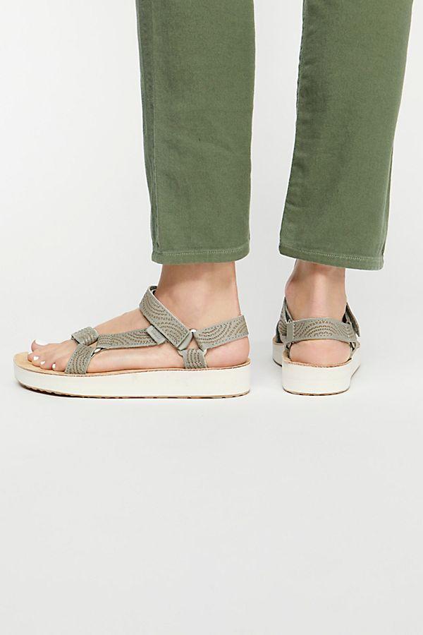 Midform Midform Universal Sandal Geometric Teva Midform Teva Universal Geometric Sandal F3TJK1lc