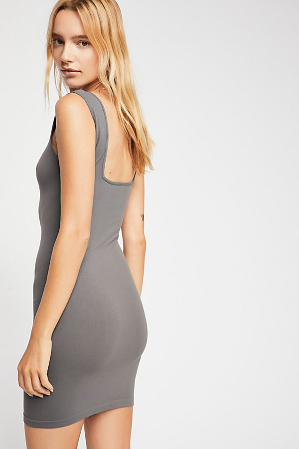 Slide View 2: Square Neck Seamless Layering Slip