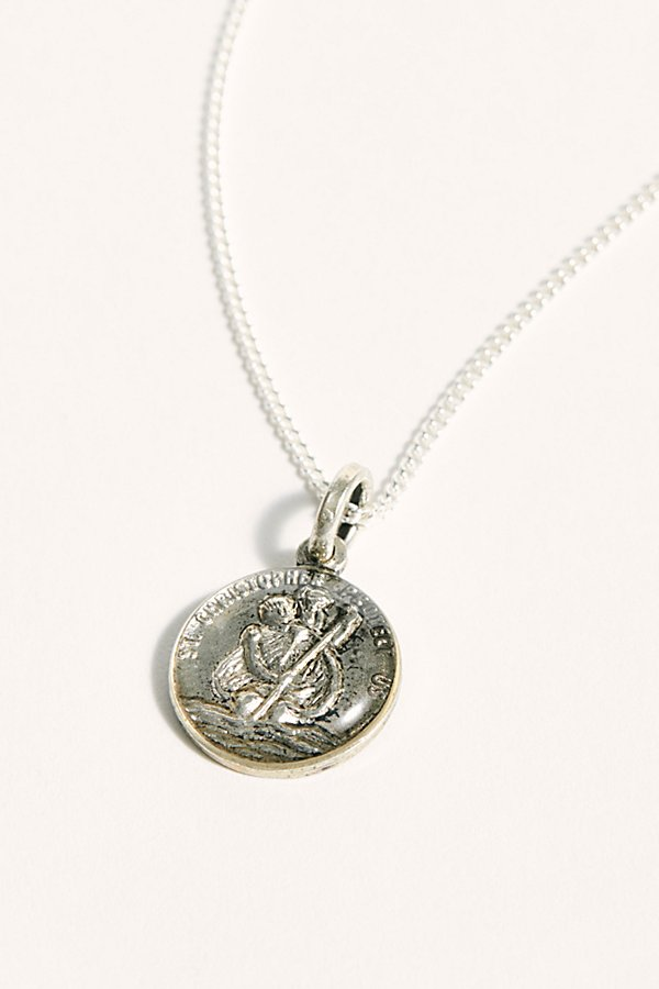 Slide View 1: St. Christopher Necklace