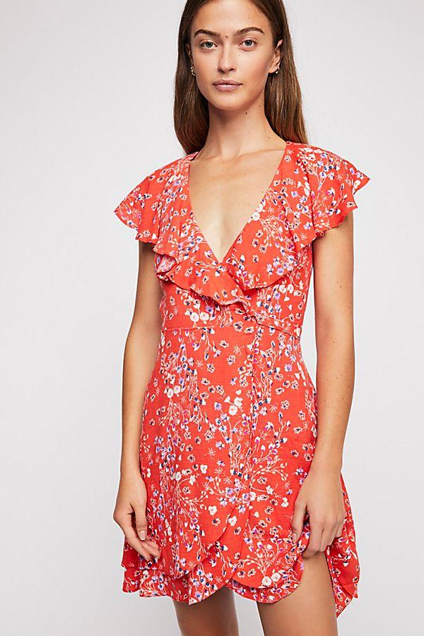 577db8be2894 French Quarter Wrap Mini Dress | Free People