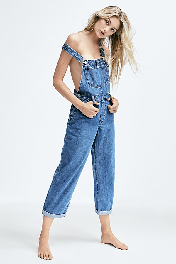 Slide View 1: Levi's Baggy Denim Overalls