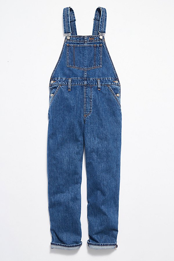 Slide View 5: Levi's Baggy Denim Overalls