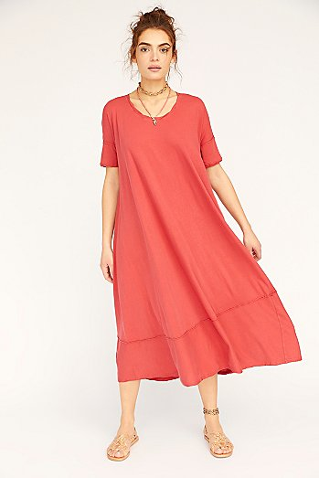 Pebble Beach Maxi T-Shirt Dress