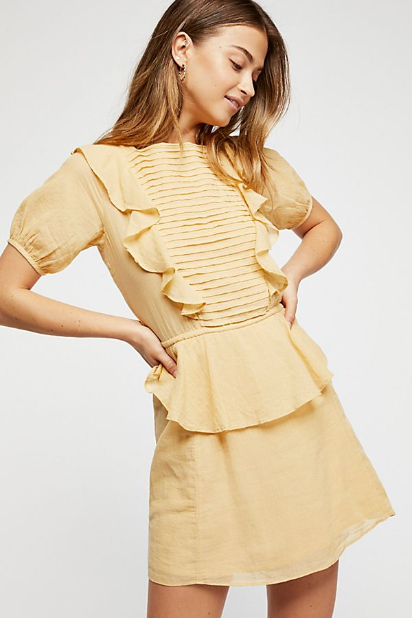 1ffdf7131f0a In The Mood For Love Mini Dress   Free People