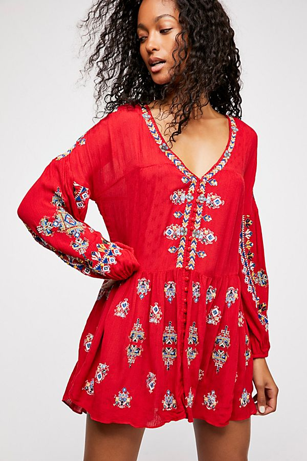 a6e279fc135 The Arianna Embroidered Tunic | Free People