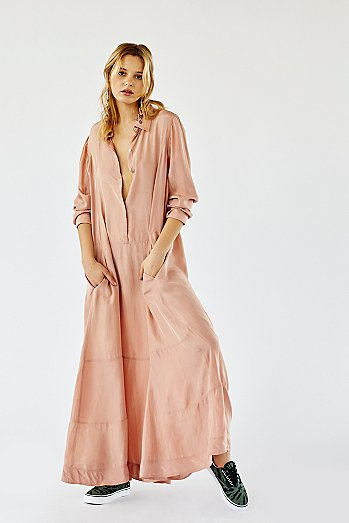Orion Silk Maxi Dress