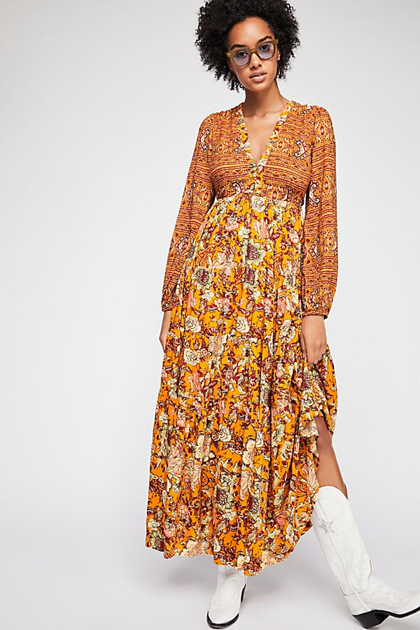 e04168c690fc Dove Long Sleeve Maxi Dress | Free People