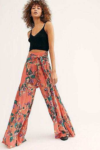 FP One Aloha Printed Wide-Leg Pants