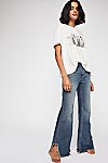 Thumbnail View 1: Vintage Flare Jeans