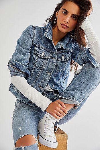 53de19d39f8f Denim Jackets   Jean Jackets for Women