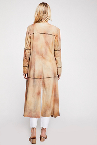 Long Suede Duster by Brenda Knight