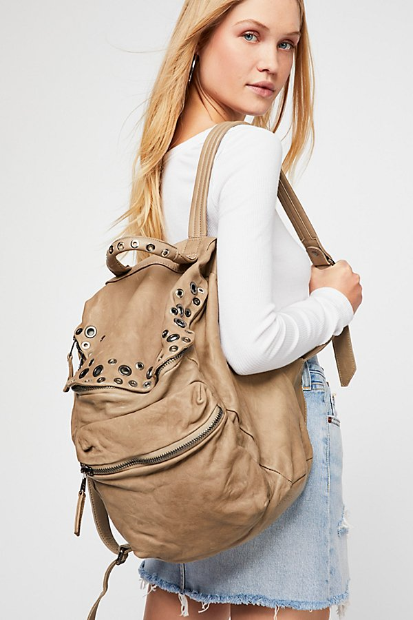 Slide View 5: Pistoia Distressed Backpack