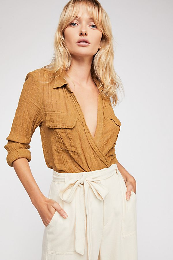 658030cbfe2 FP One Lana Knot Top | Free People
