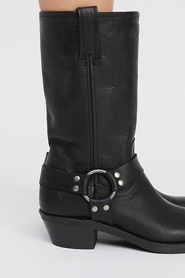 Slide View 3: Leather Harness Mid Boot