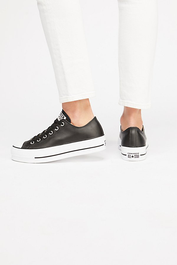 Slide View 4: Platform Low-Top Sneaker