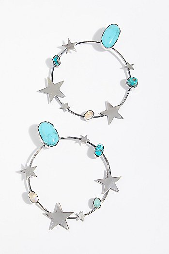 Find Your Stars Hoop Earrings