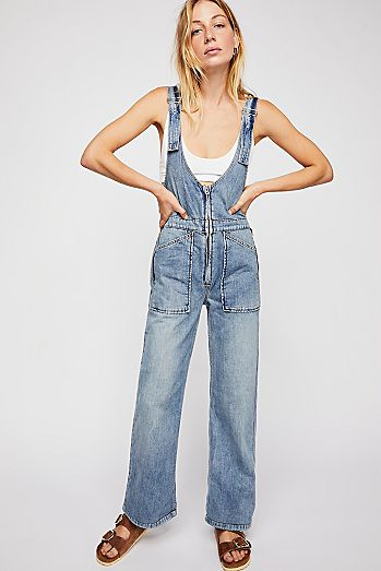 6538054df6 Womens Overalls | Cute Denim Overalls & Coveralls | Free People