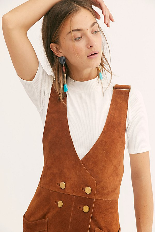 Slide View 3: Canyonlands Suede Pinafore Dress