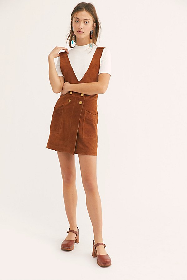 Slide View 4: Canyonlands Suede Pinafore Dress