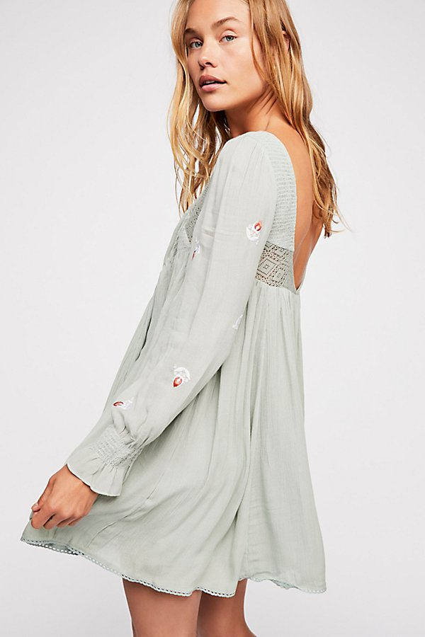 Slide View 2: Moya Embroidered Mini Dress