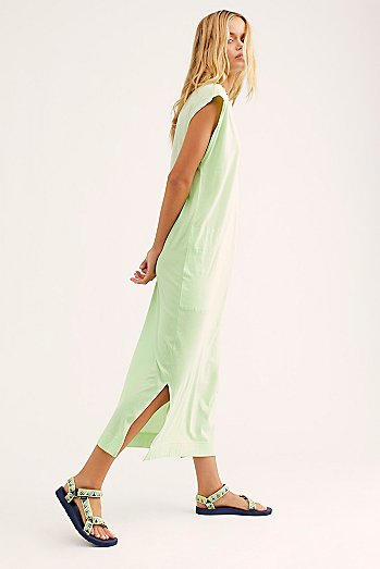 All Day Long Midi T-Shirt Dress